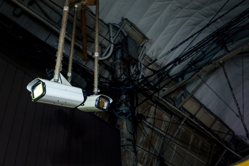 市民を守るために役立つ防犯カメラ