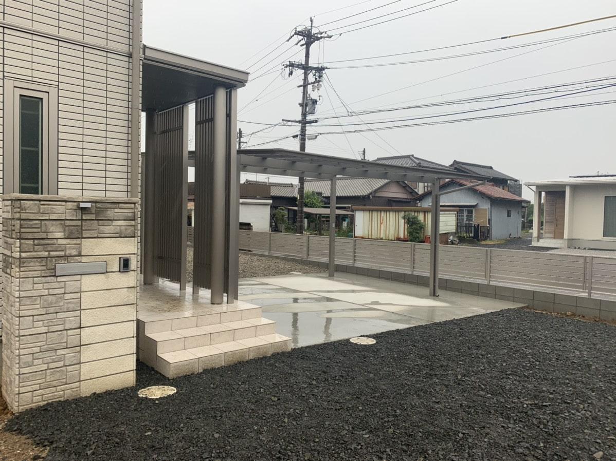 春日井市のエクステリア施工事例