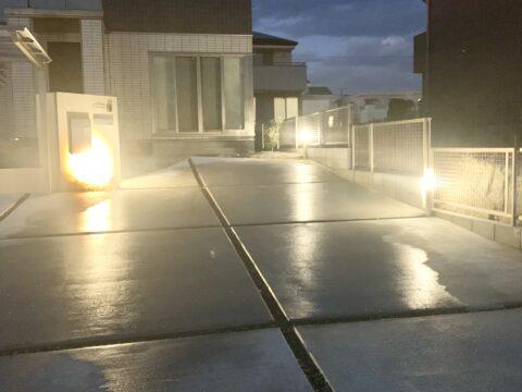 尾張旭市の照明計画にこだわったお庭