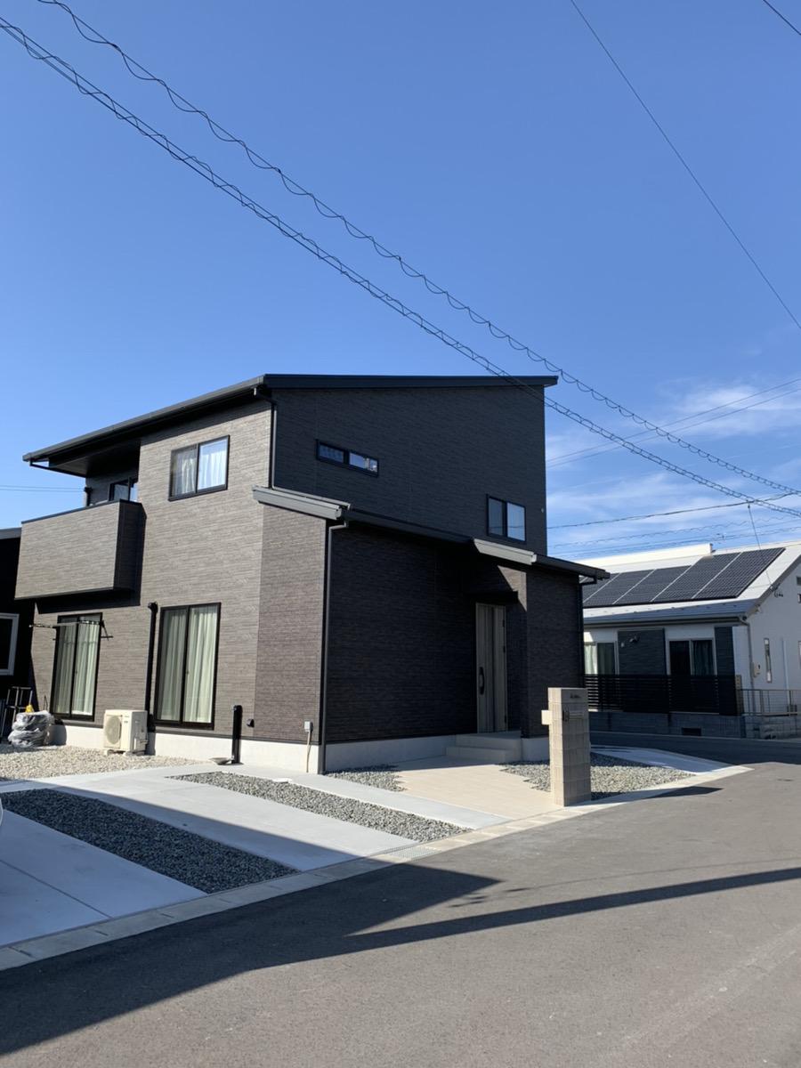 羽島市の駐車場、玄関、アプローチの施工事例